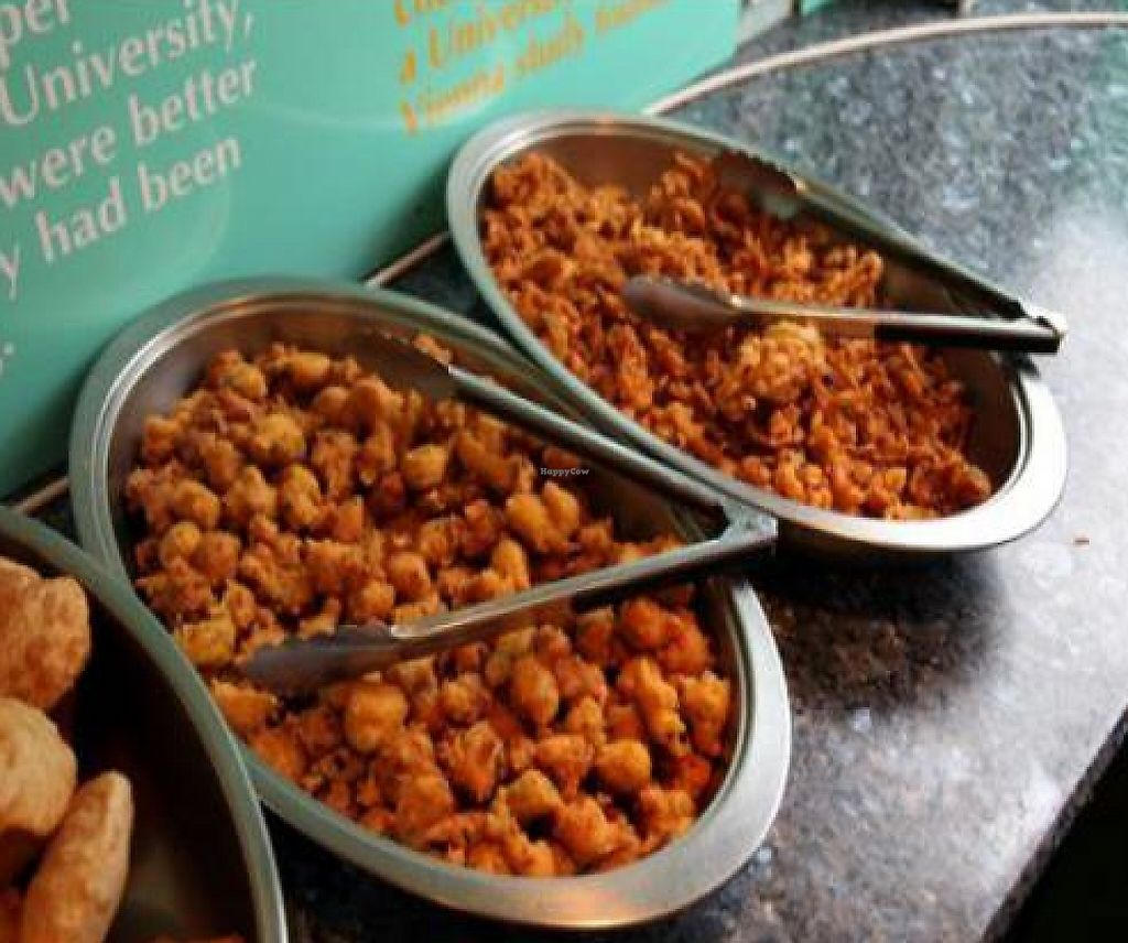 Vegan Appetizers At Indian Veg Bhelpoori House In North London