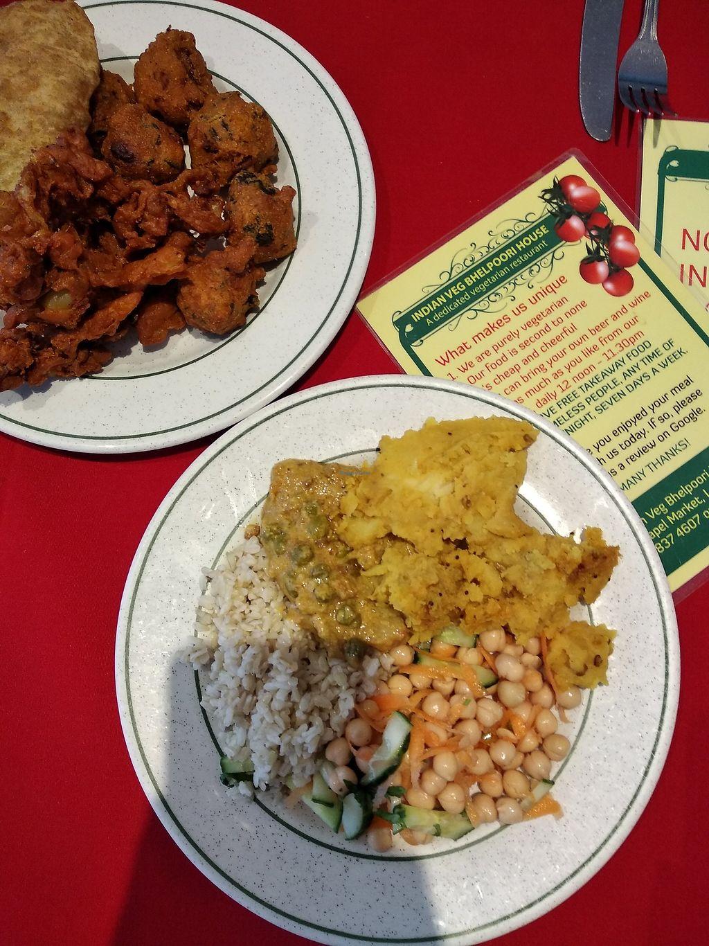 Indian Veg Bhelpoori House North London Restaurant Happycow