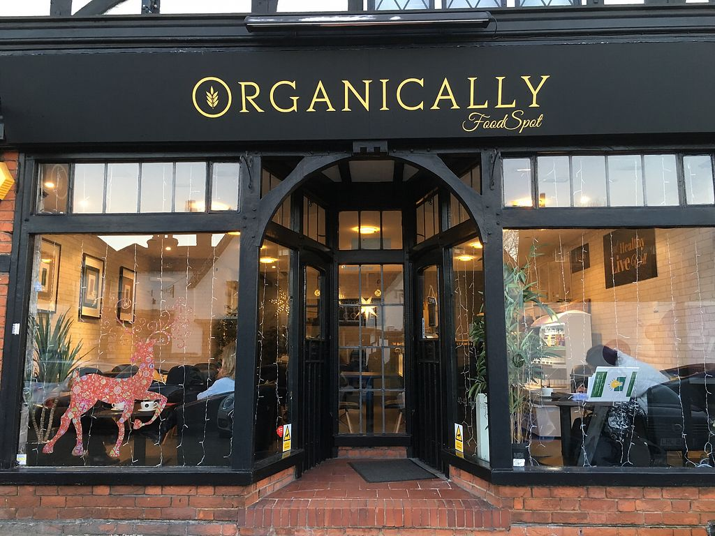 Organically Foodspot North West London Restaurant Happycow