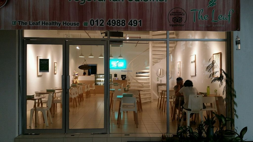 D Exhibition Penang : The leaf bayan baru penang restaurant happycow
