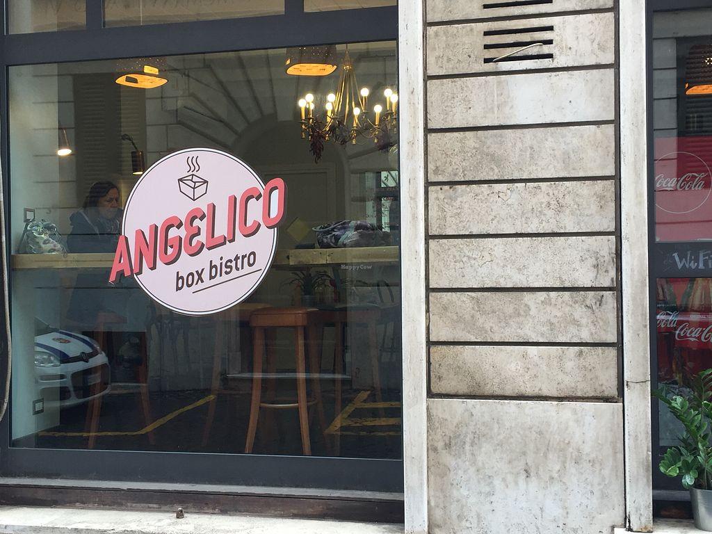 Angelico Bistro Box - Rome Restaurant - HappyCow