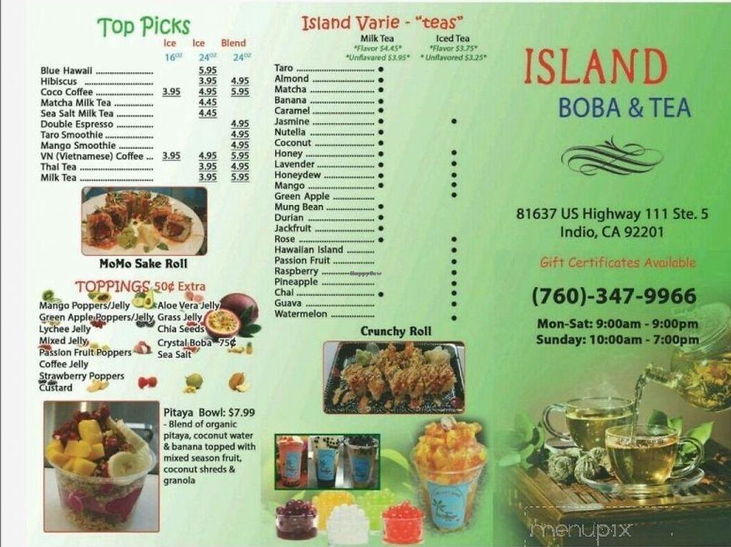 Island Boba & Tea - Indio California Restaurant - HappyCow