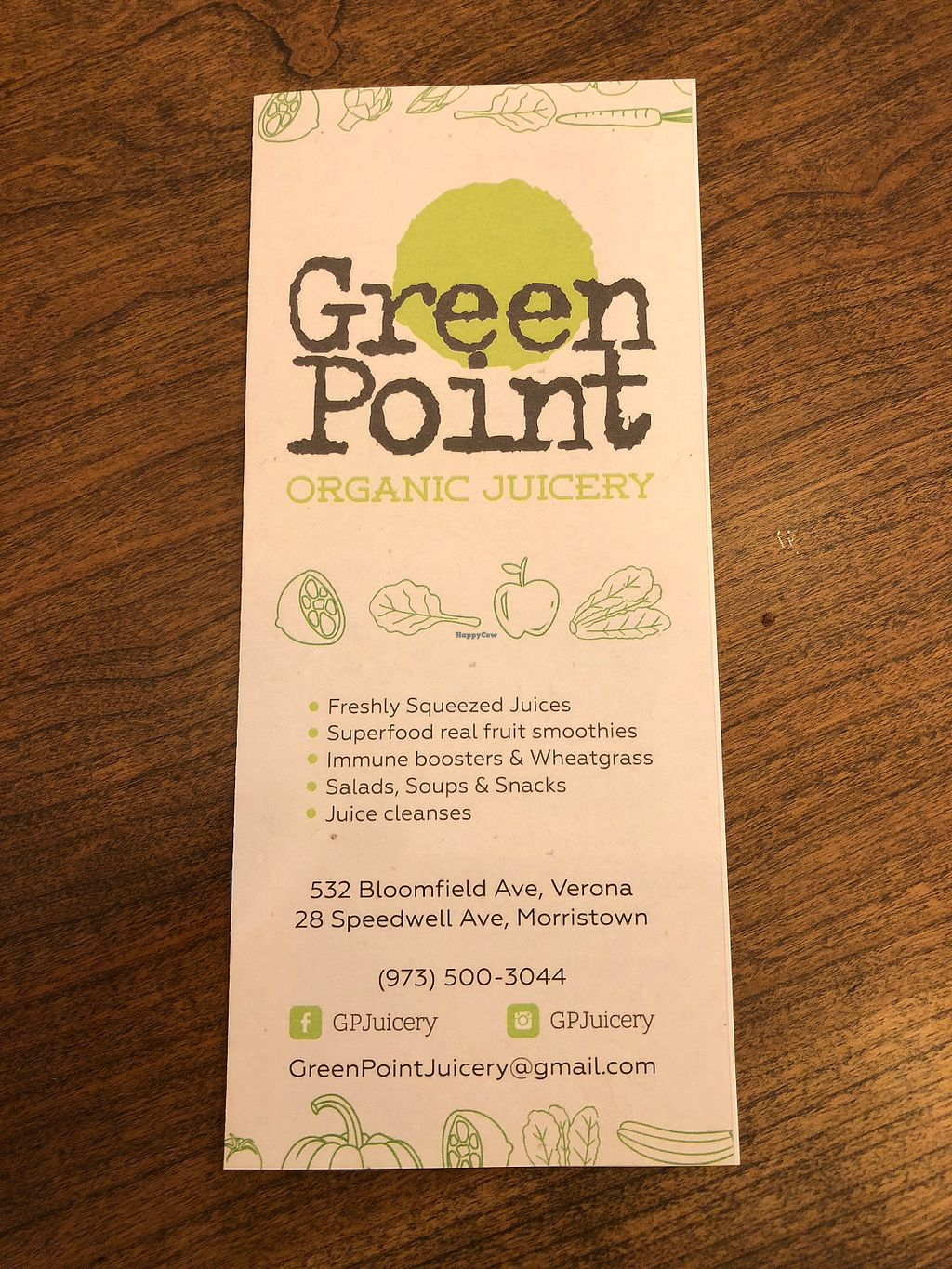 Green Point Juicery - Morristown New Jersey Restaurant
