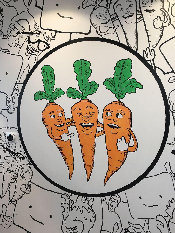 Three Carrots Fountain Square Indianapolis Indiana Restaurant