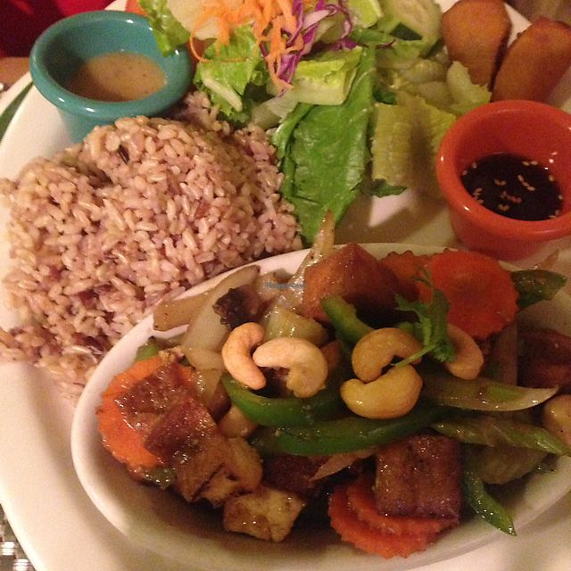 Thai Vegan San Antonio Texas Restaurant Happycow