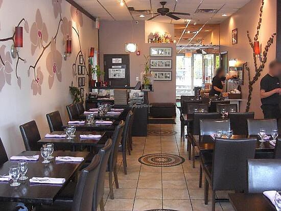 Inside Of Restaurant At Gao Thai Kitchen In Ramsey