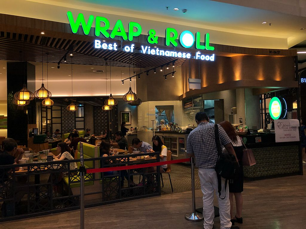 2063759b CLOSED: Wrap N Roll - Changi City Point Mall - East Singapore ...