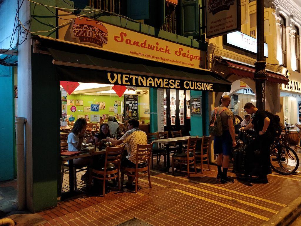 Sandwich Saigon - E Coast - Central Singapore Restaurant - HappyCow