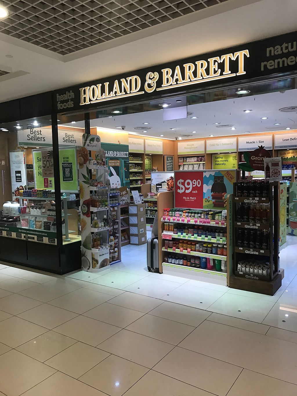 Holland & Barrett - Parkway - Central Singapore Health Store - HappyCow