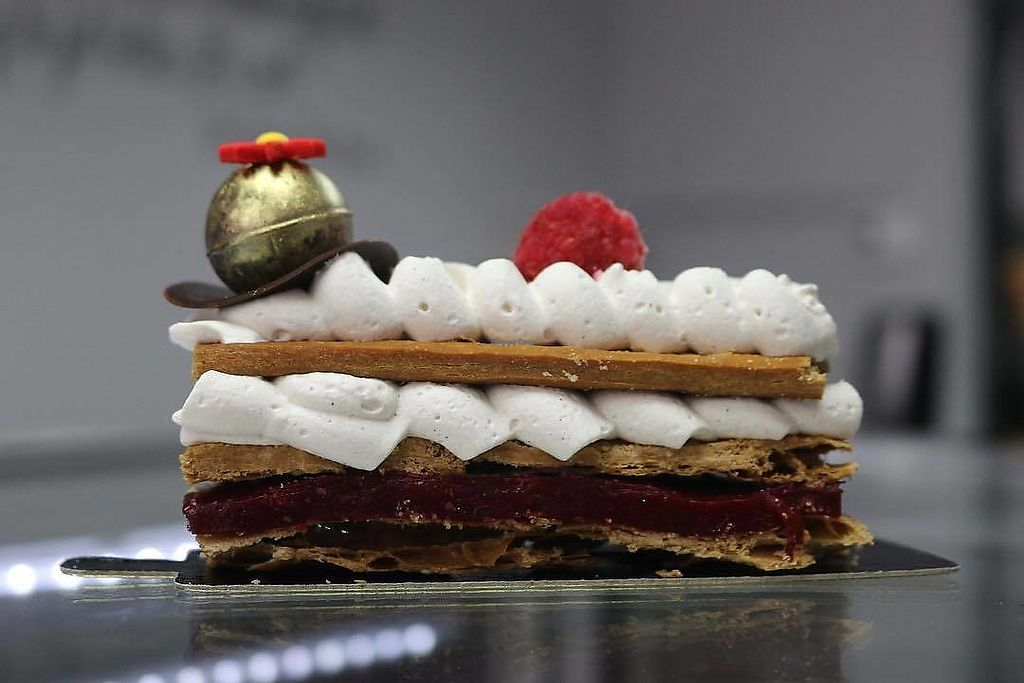 Mille Feuille At L E Creative Bakery In Miami Beach