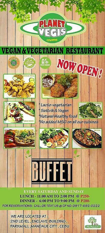 planet vegis parkmall cebu restaurant happycow rh happycow net