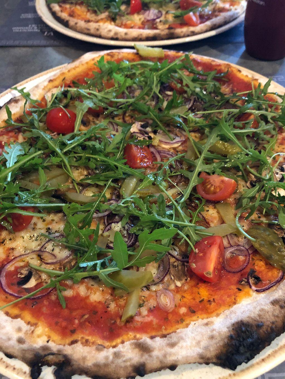 Romans Pizzeria Glasgow Restaurant Happycow