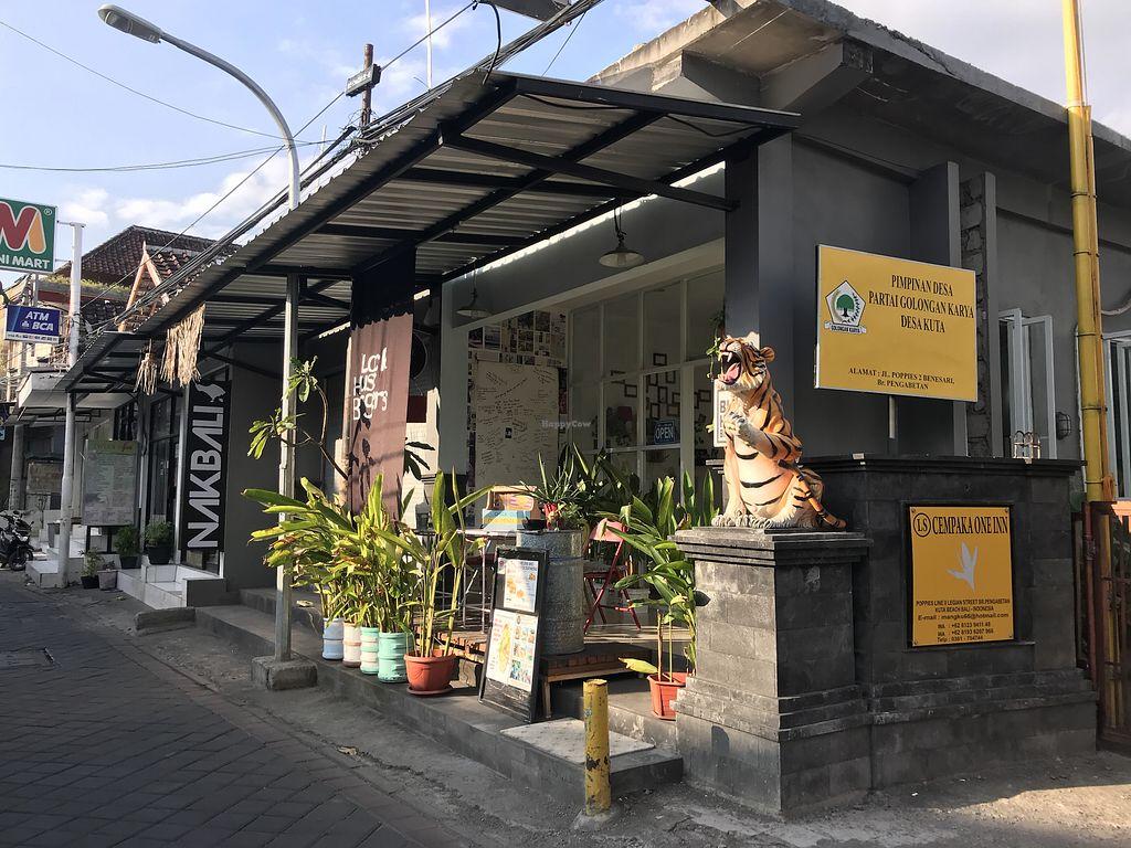 Exterior Of Black House Burger At Burgers In Kuta