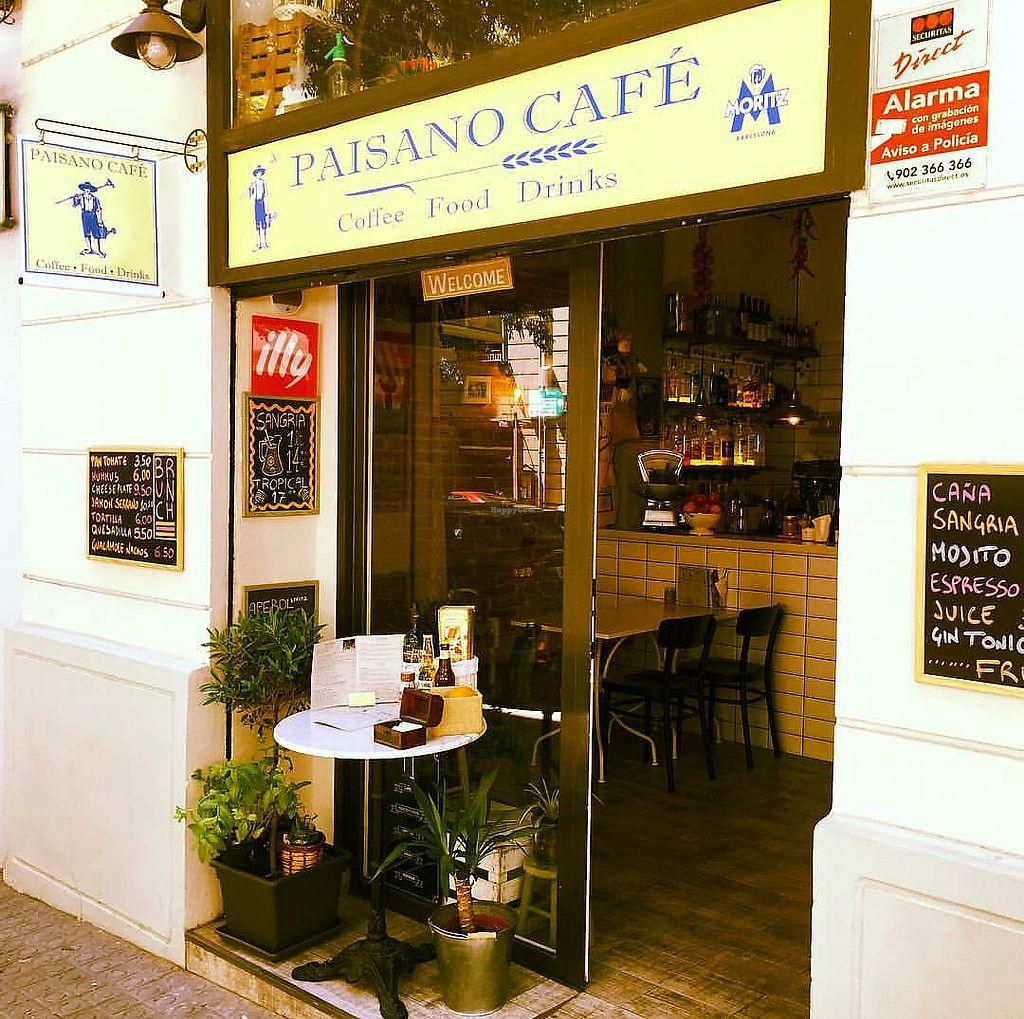 Paisano Café - Barcelona Restaurant - HappyCow