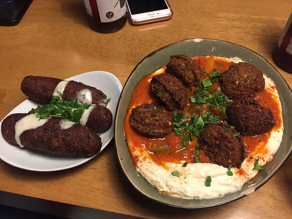 Hummus Küch Frankfurt Restaurant Happycow