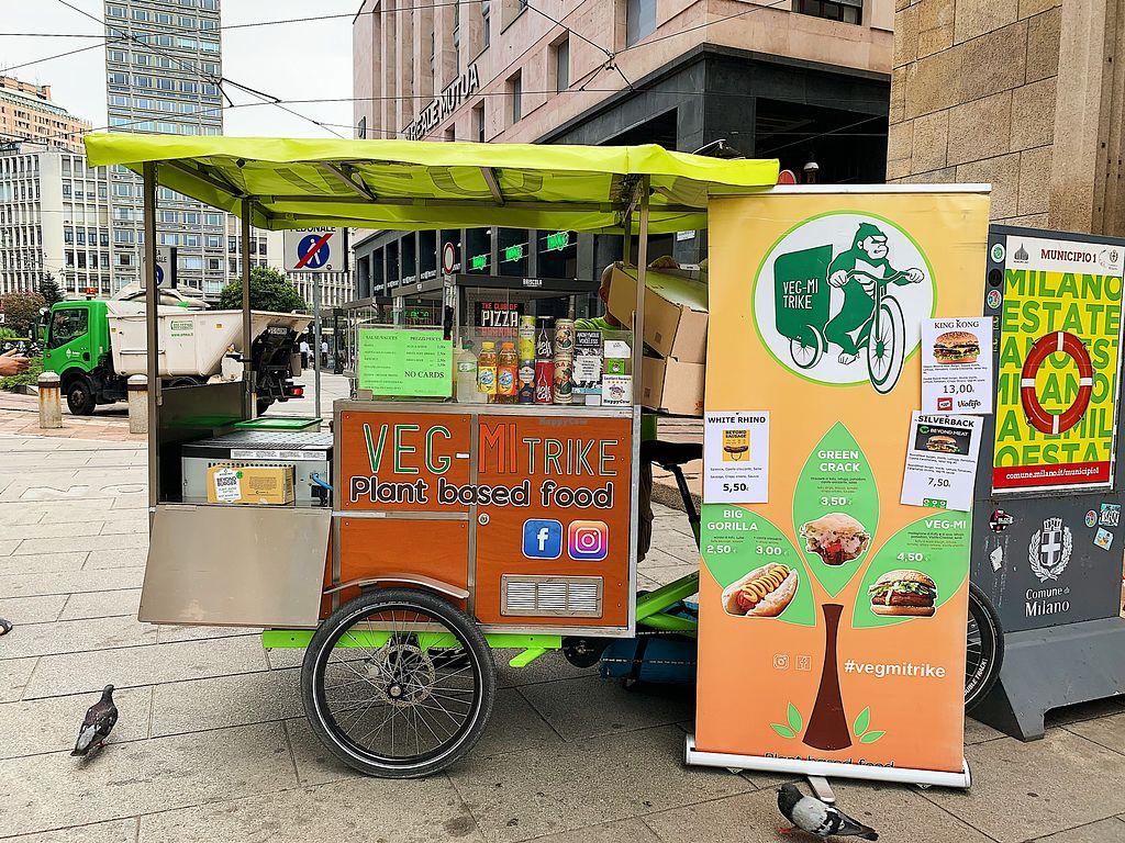 Veg Mi Trike Milan Food Truck Happycow