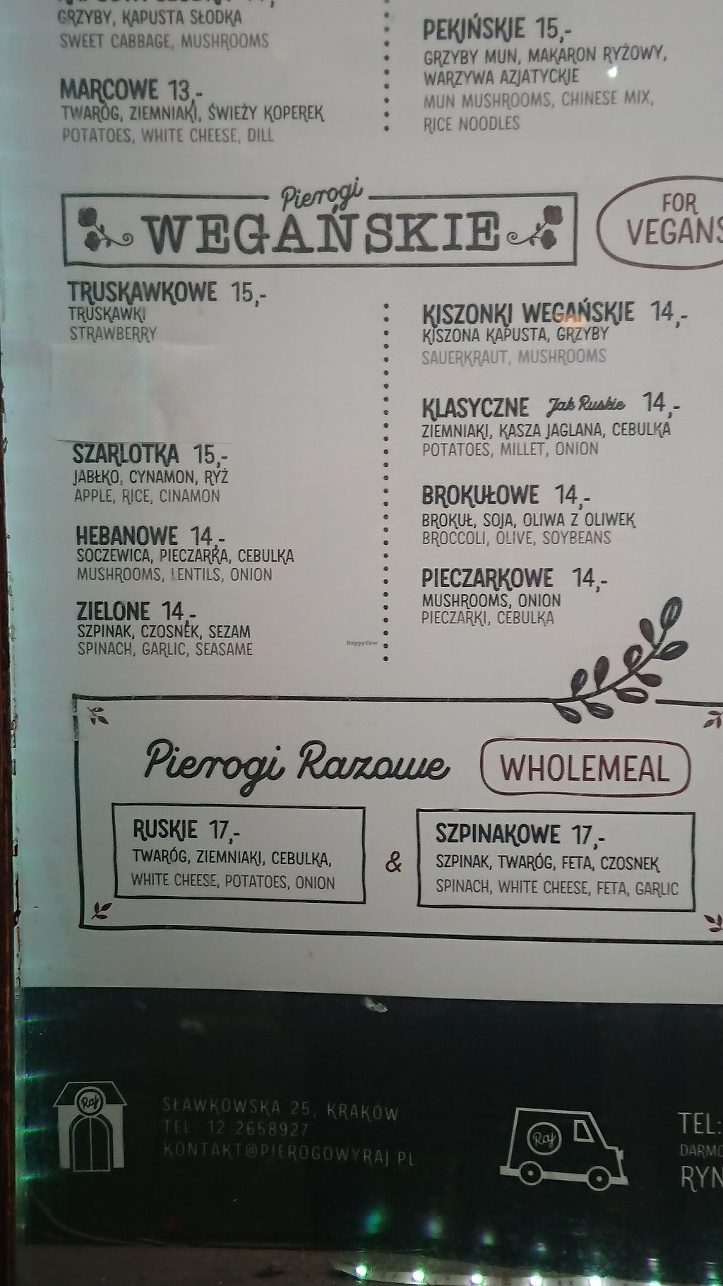 Pierogowy Raj - Krakow Restaurant - HappyCow