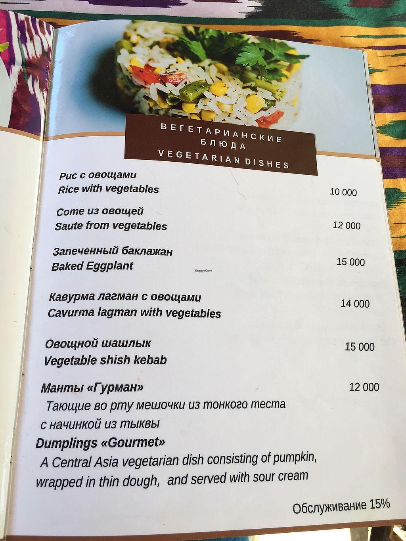 Old Bukhara Restaurant - Bukhara Restaurant - HappyCow