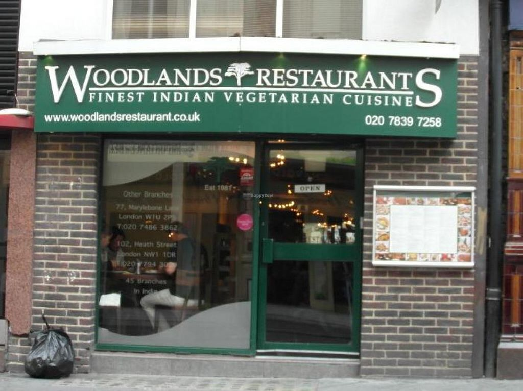 Woodlands - Leicester Square - London Restaurant - HappyCow