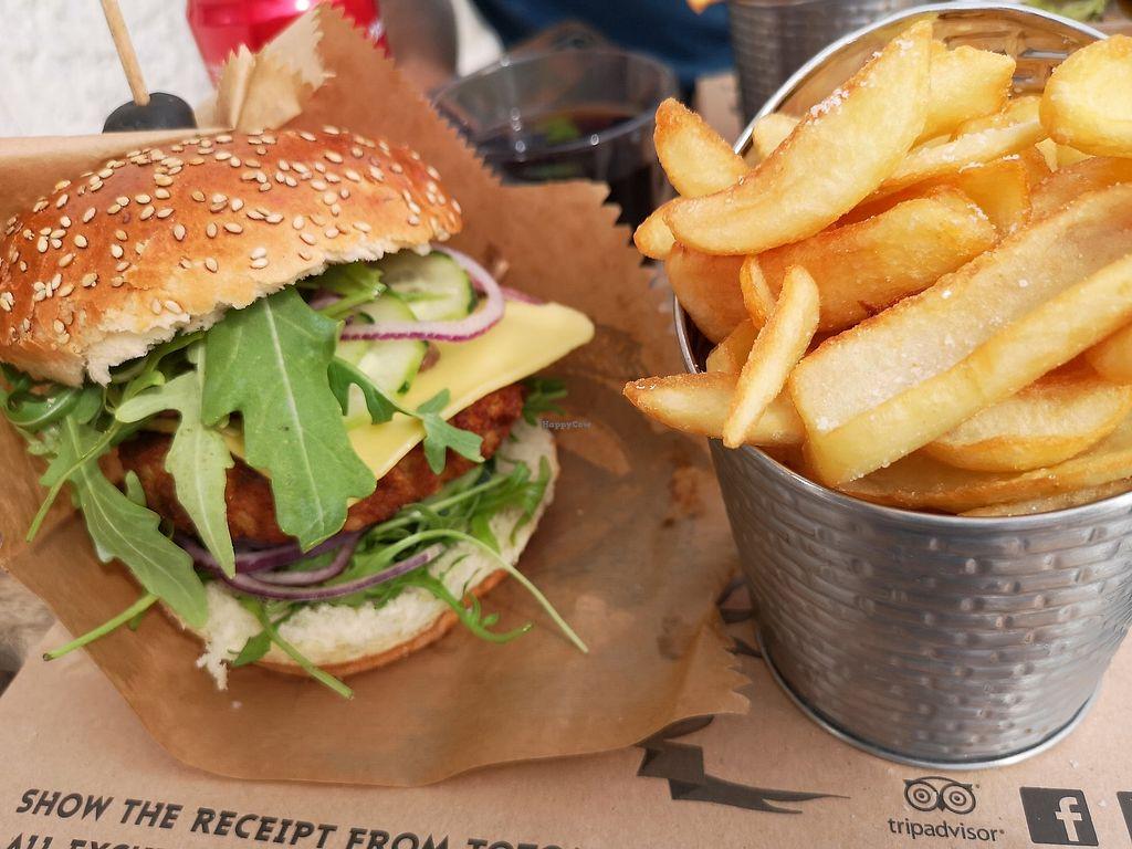 Toto's Burger Bar - Split Restaurant - HappyCow
