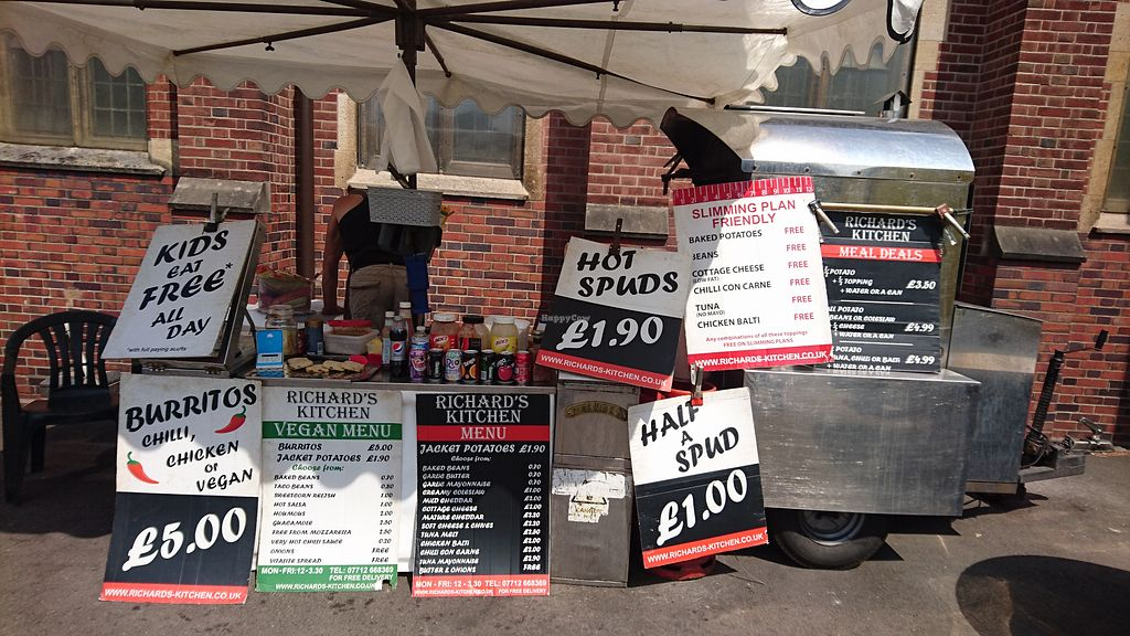 Richard S Kitchen Food Stall Coventry Restaurant Happycow
