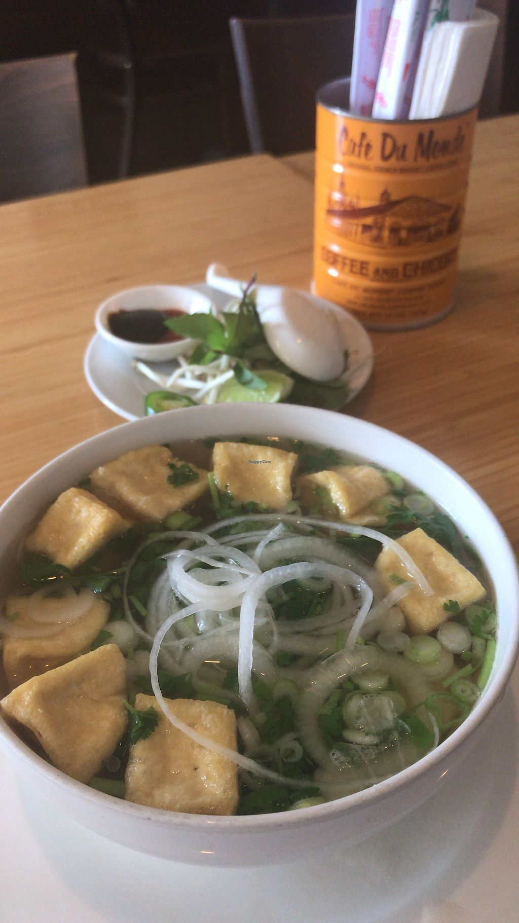 Vegan Pho With Tofu At Benley Vietnamese Kitchen In Long Beach