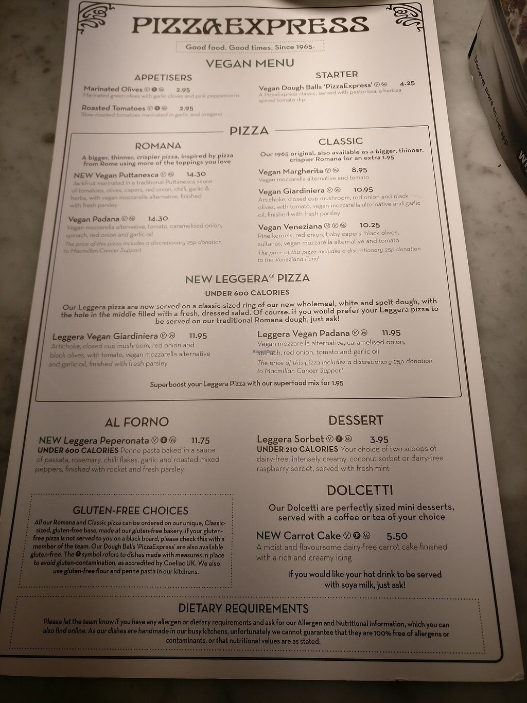 Pizza Express East Molesey Restaurant Happycow