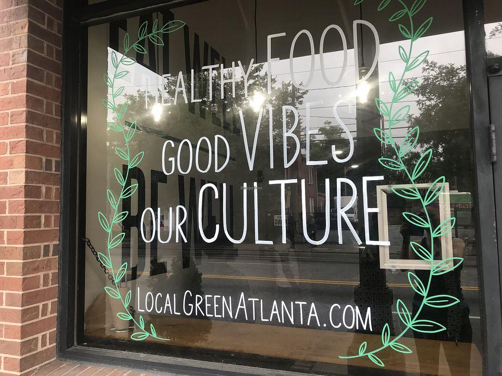 Local Green Atlanta Atlanta Georgia Restaurant Happycow