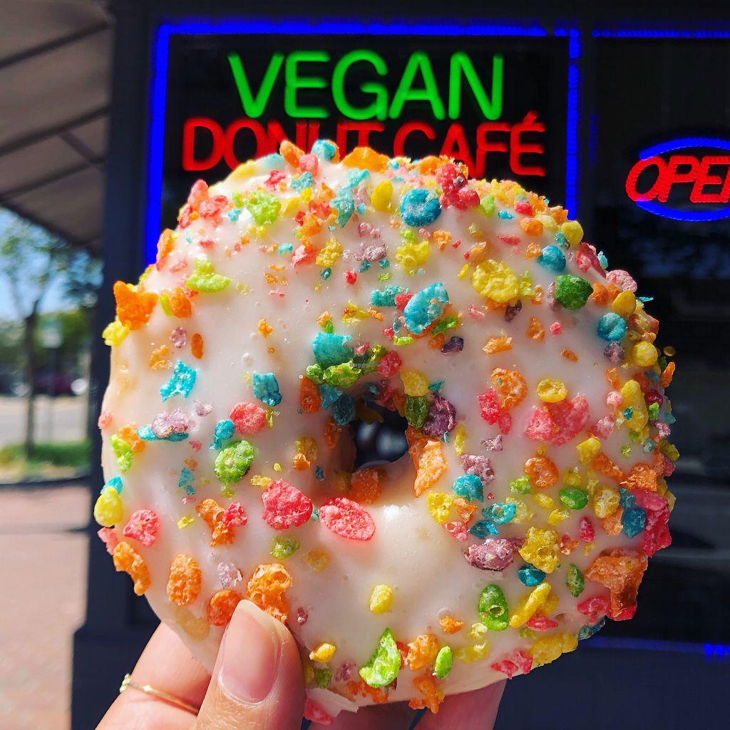 Vegan Donut Cafe San Jose California Bakery Happycow
