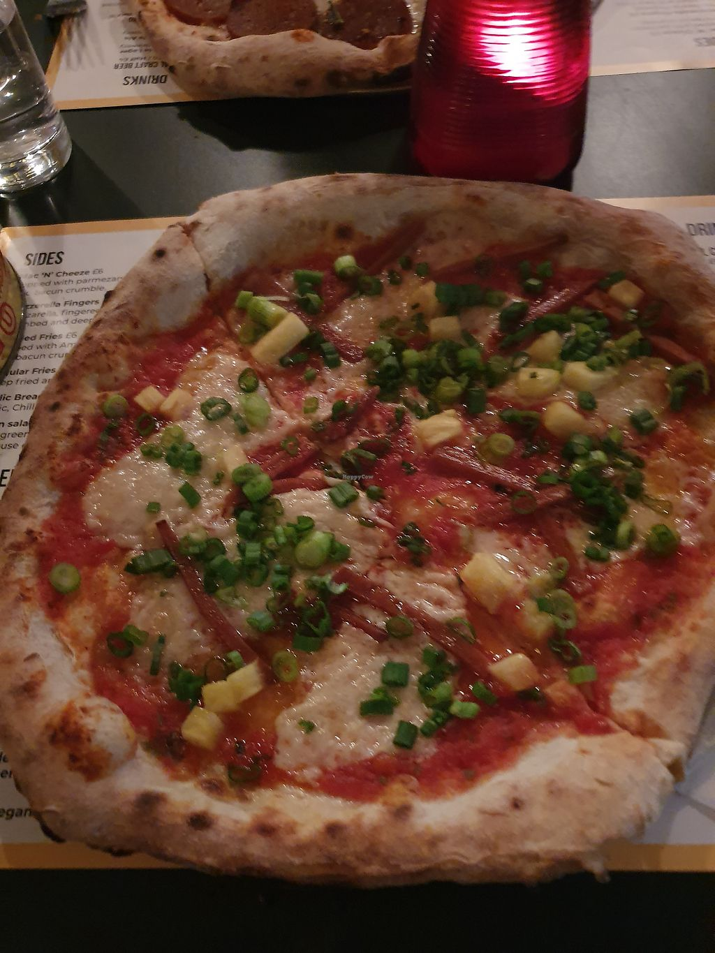Young Vegans Pizza Shop London Restaurant Happycow