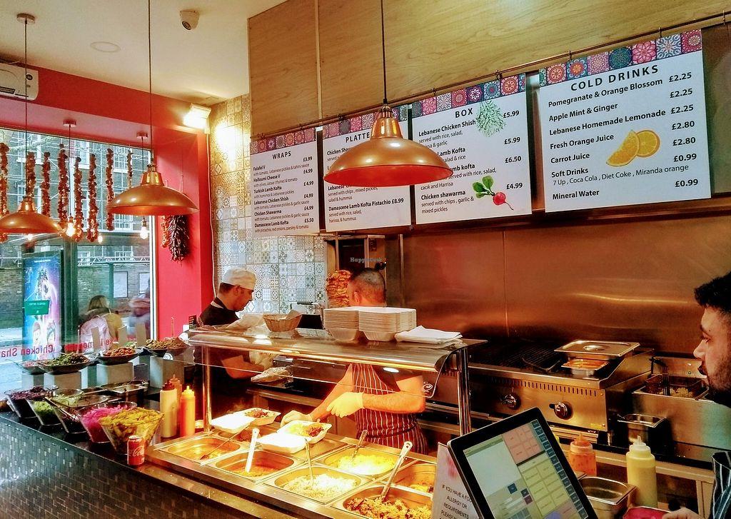 Levant Kitchen London Restaurant Happycow