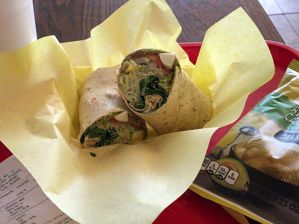Zadzeekee Wrap At Al S Healthy Foods In Tulsa