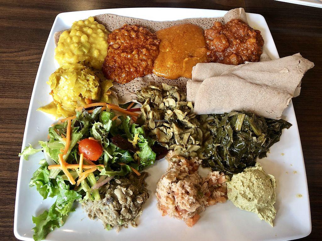 Desta Ethiopian Kitchen Emory Point Atlanta Georgia Restaurant Happycow