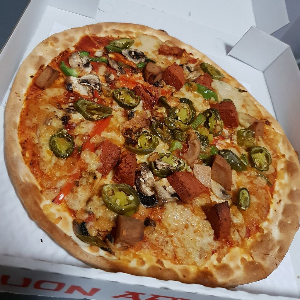 Village Pizza Vegan South East London Delivery Happycow