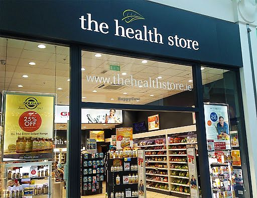 The Health Store - storefront