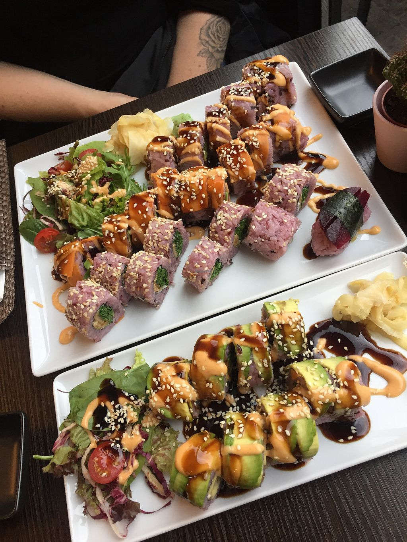 Tiger Club Vegan Sushi Berlin Restaurant Happycow