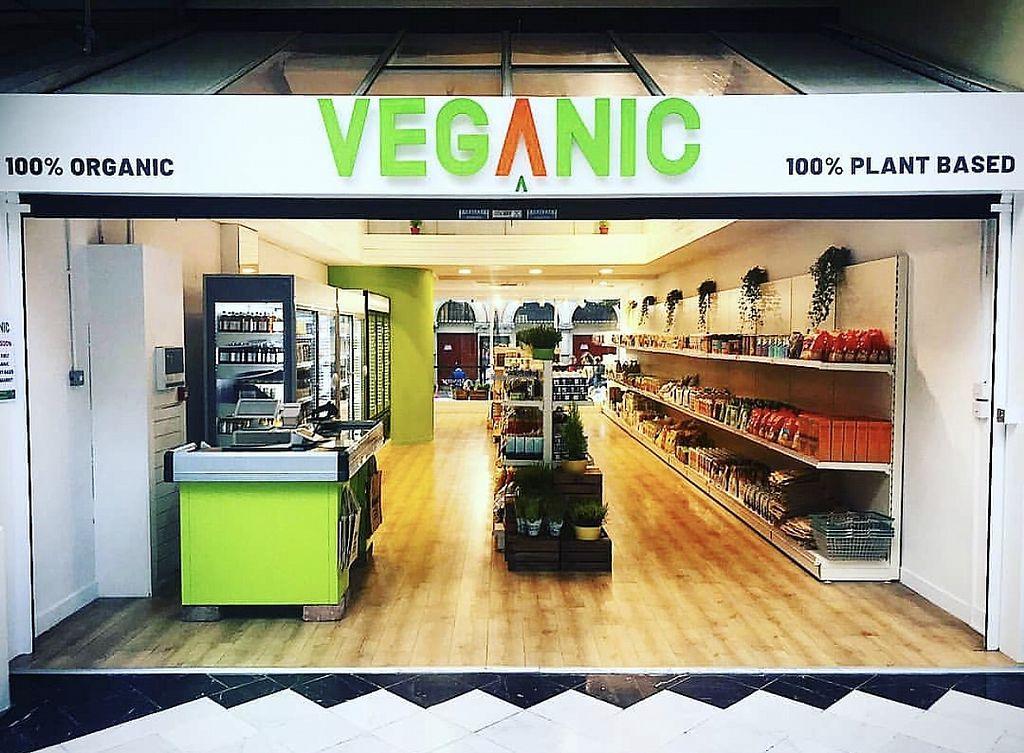 Veganic storefront