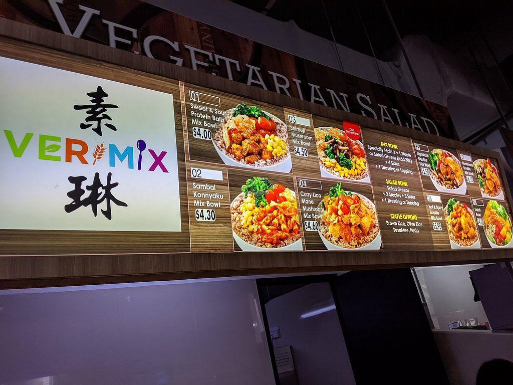 Verimix - ICON - West Singapore Restaurant - HappyCow