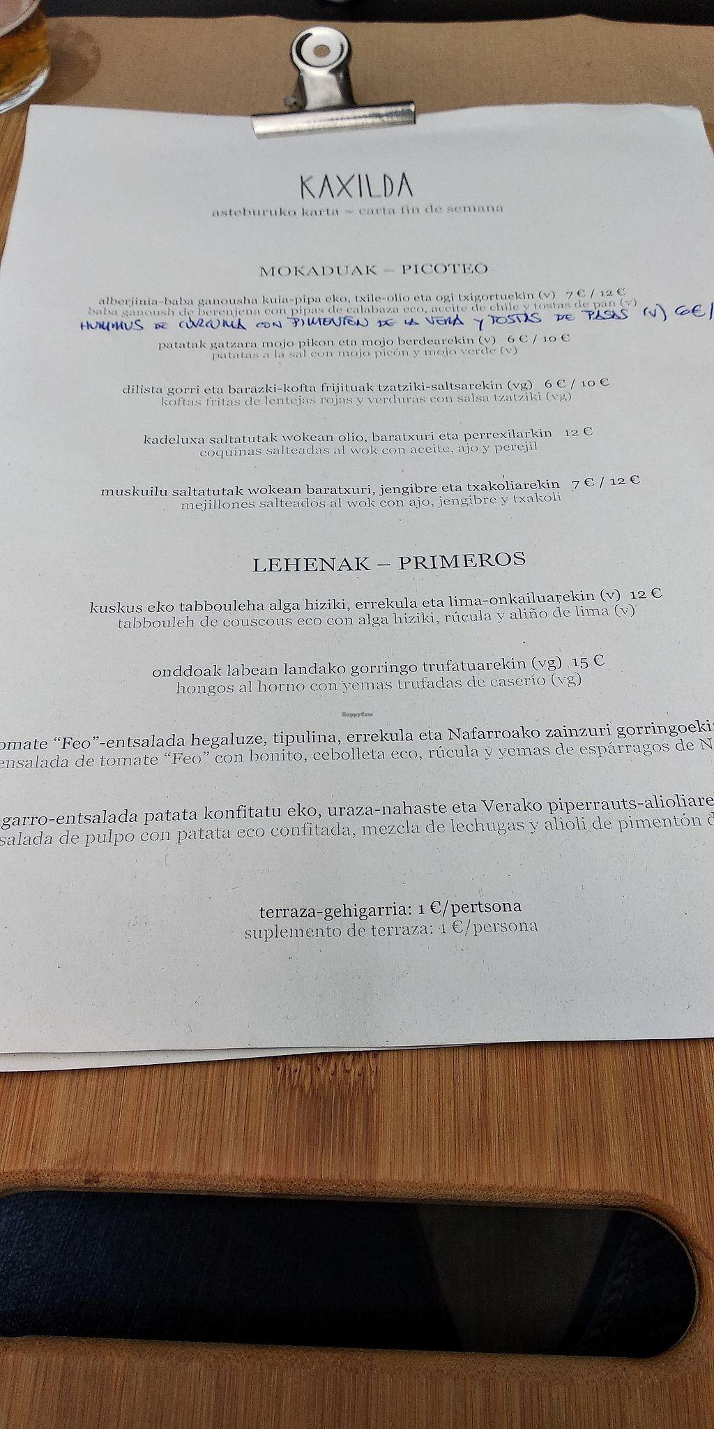 Kaxilda San Sebastian Restaurant Happycow