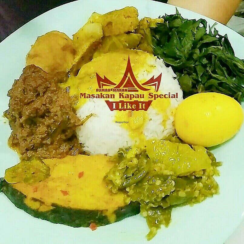 Masakan Kapau Special Bekasi Java Restaurant Happycow