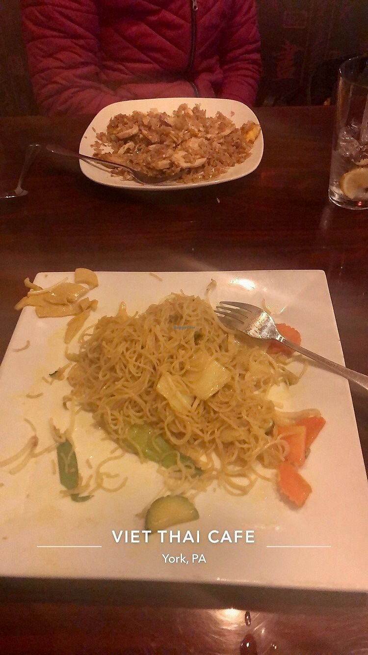 Viet Thai Cafe York Pennsylvania Restaurant Happycow