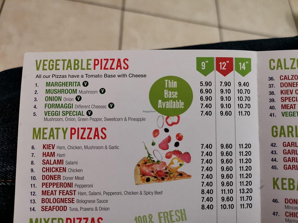 Bella Pizza Saxilby Restaurant Happycow