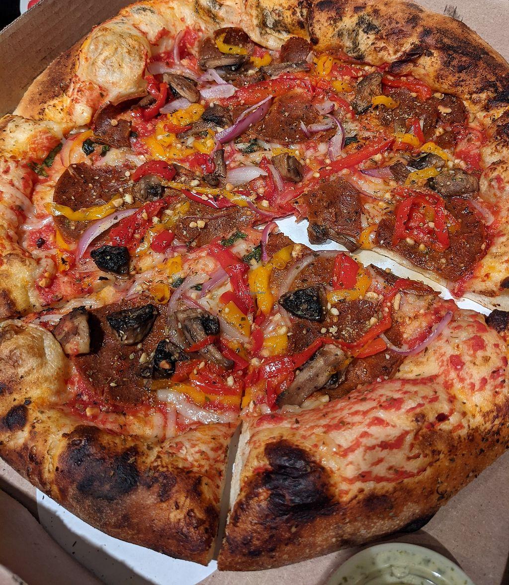 The Hall S Pizza Kitchen Oklahoma City Oklahoma Restaurant Happycow