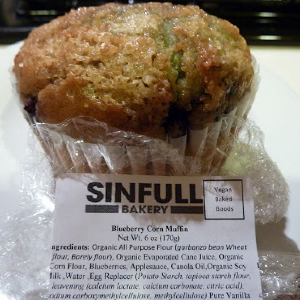 Blueberry Muffin At Sinfull Bakery In Houston