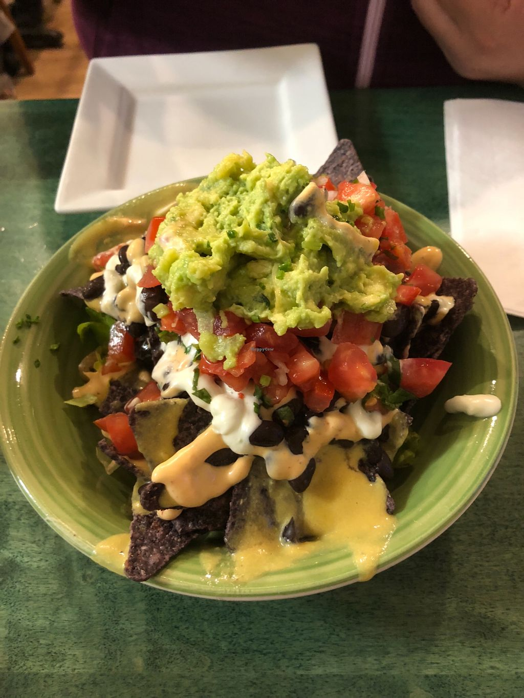 Loaded Nachos At Good Karma Cafe In Red Bank