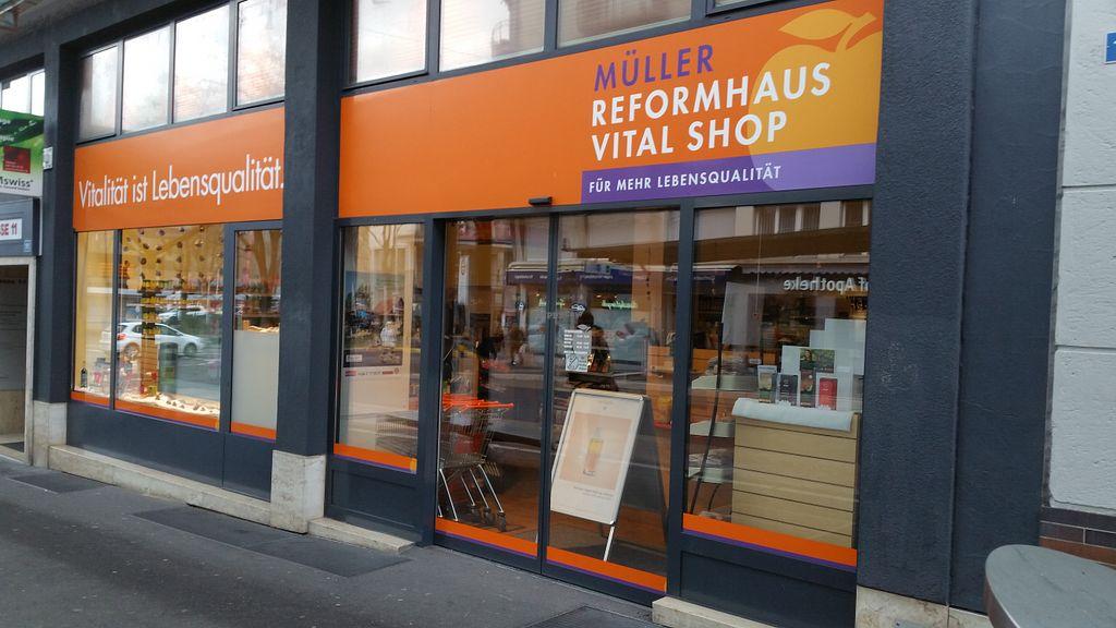 Exterior At Mller Reformhaus In Zug