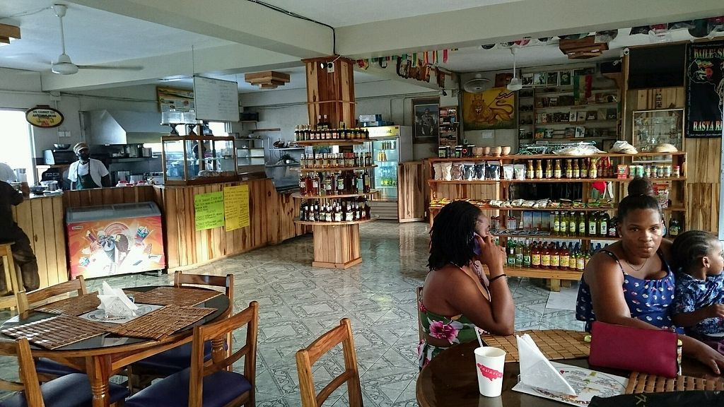 Calabash Ital Restaurant Ocho Rios Restaurant Happycow