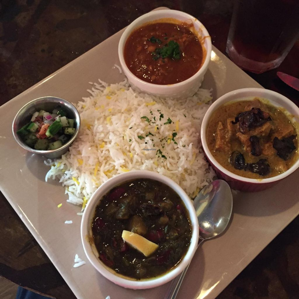 The Sampler Plate At Sage Vegetarian Restaurant In Chapel Hill