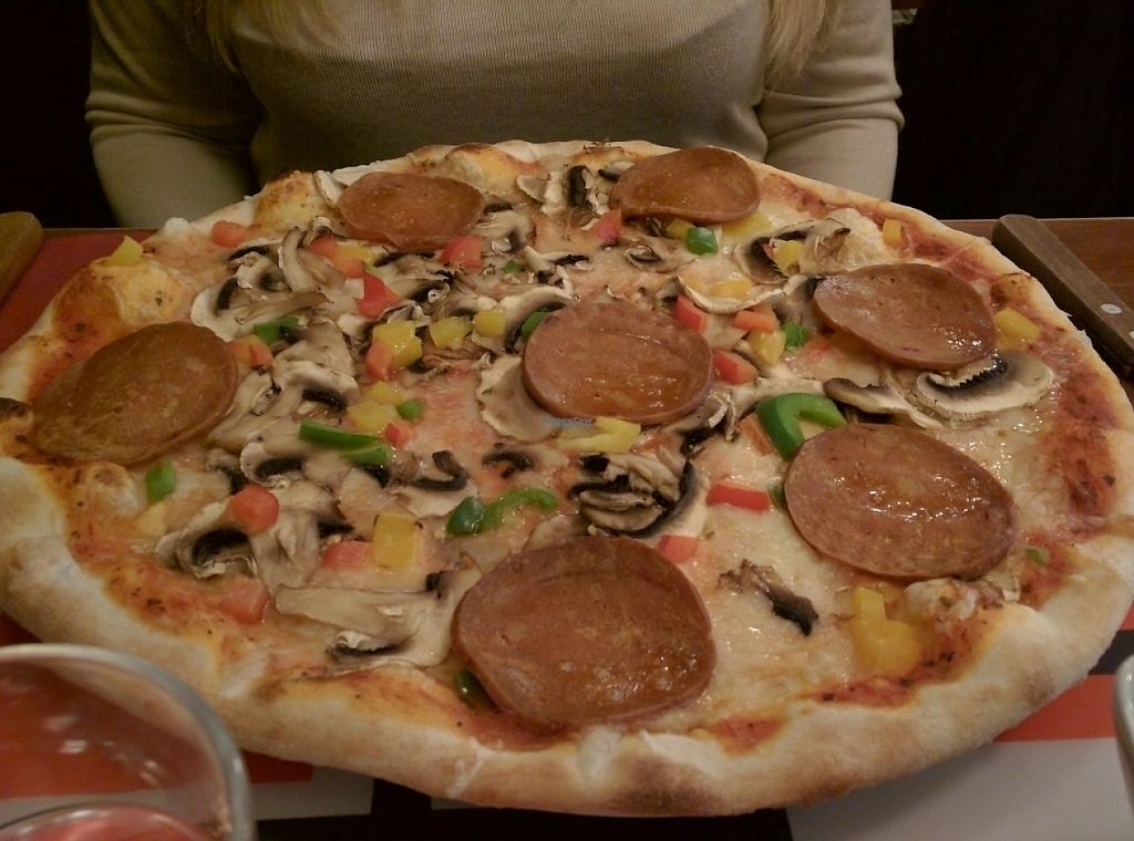 vegan pizza södermalm
