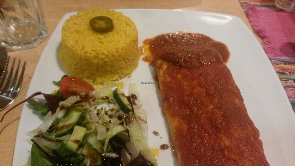 Vegan Enchiladas At Tia S Mexican And Mediterranean Restaurant In Durham
